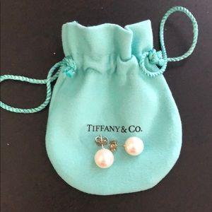 Tiffany & Co pearl earrings